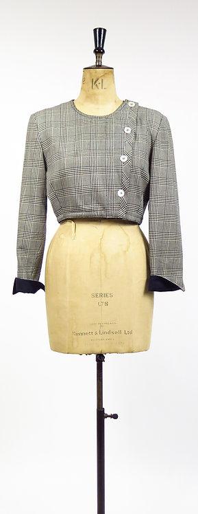 1980-90s Valentino Miss V Cropped Jacket