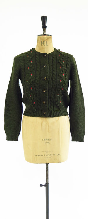 1970-80s Austrian Knitted Cardigan