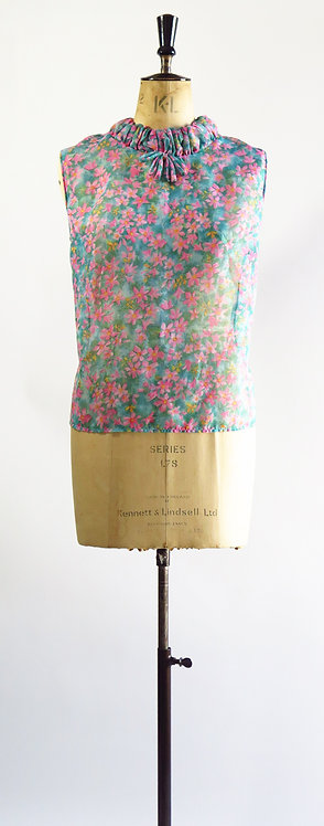 1960s Sleeveless Blouse