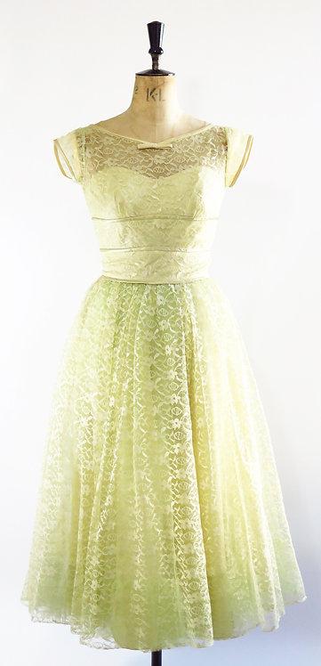 1950's Lorrie Deb Prom Dress