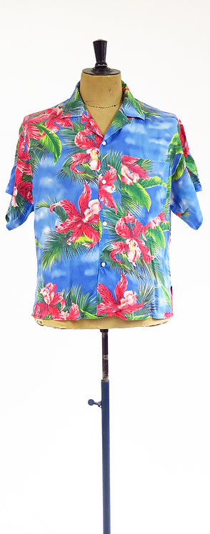 1990s Esprit Hawaiian Patterned Shirt
