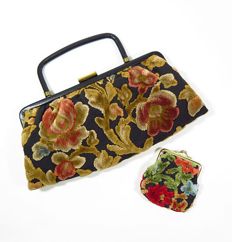 1950s Evening Bag with Purse
