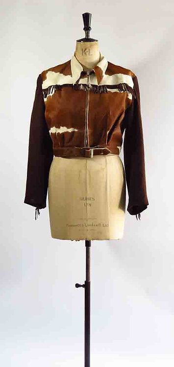 1940-50's Cow hide Jacket