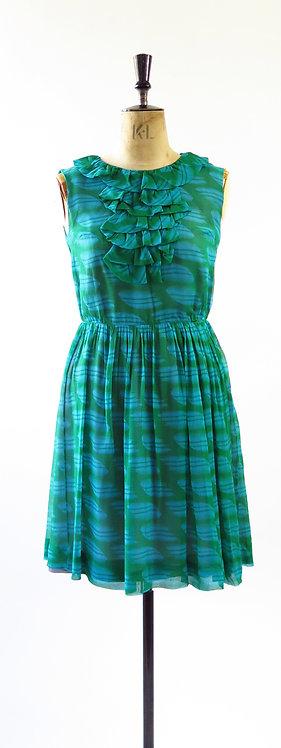 1950s Chiffon Day Dress