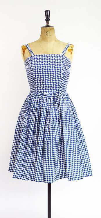 1950s Strap Swing Dress