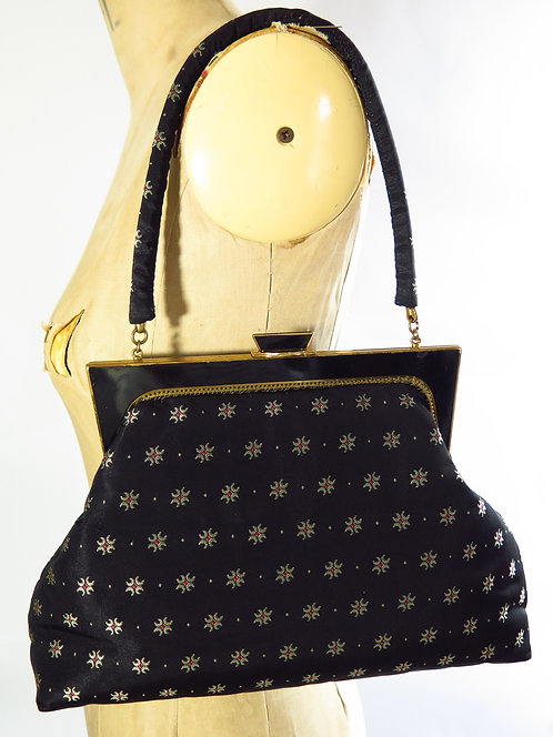 1940-50's Fabric Bag
