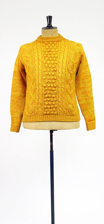 1950-60s Mustard Knitted Sweater