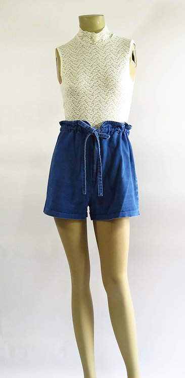 1970s Denim Shorts