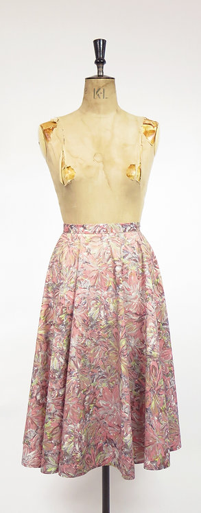 1950s Cotton Full Circle Skirt