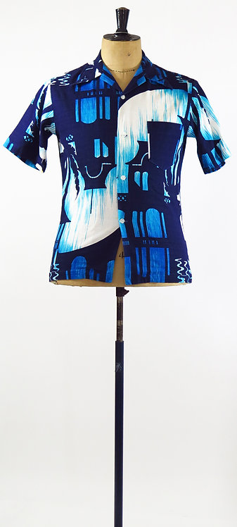 1970s Hawaiian Shirt S-M