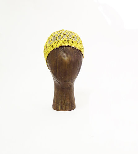 Original Vintage 1920s Deco Crocheted Hat