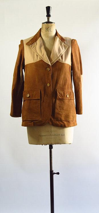 Original 1940s Suede Jacket