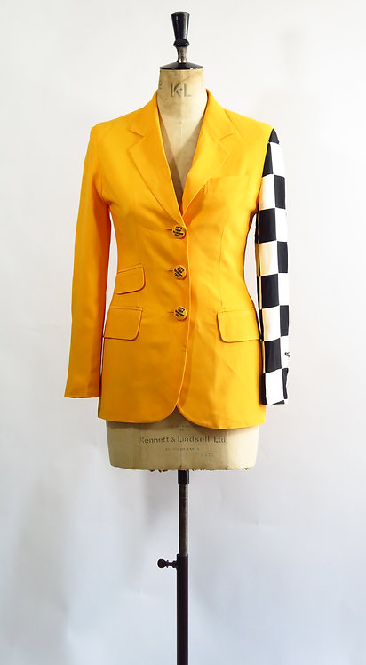 """Moschino Suit """"Let's keep fashion tidy"""""""