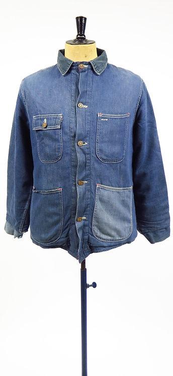 1950s American Blanket Lined Workwear Jacket