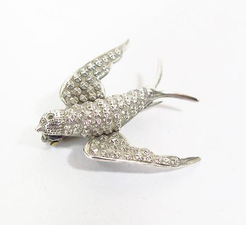 Swallow Brooch