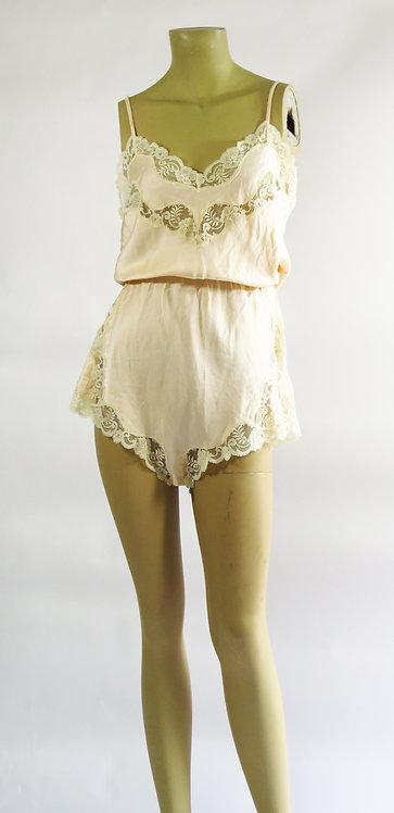 Vintage Silk Bodice