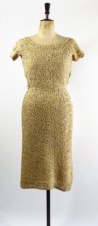 1940s Ribbon Dress