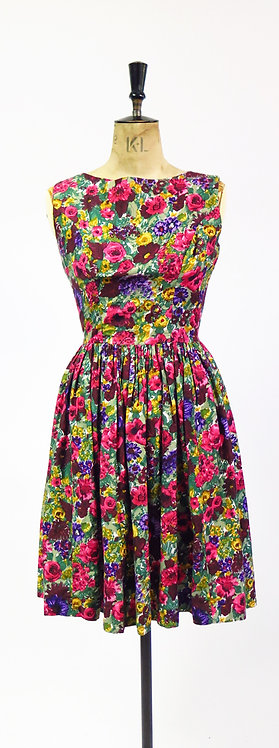 1950s Style Floral Day Dress