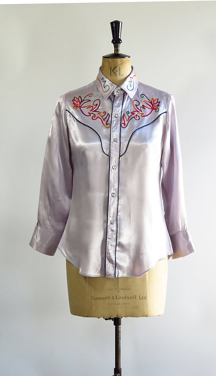 Vintage Cowgirl Blouse