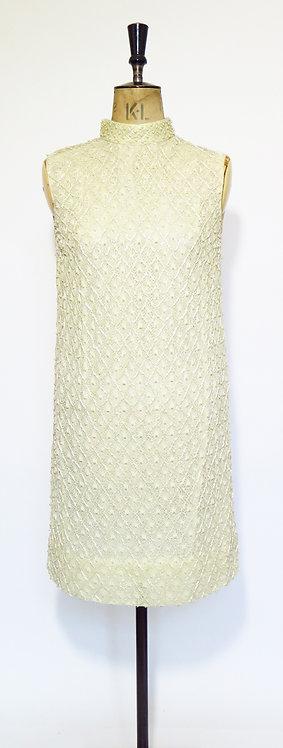 1960's Beaded Shift Dress