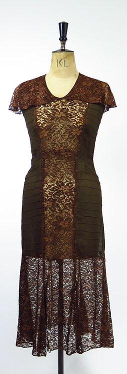 1920s 2 Piece Evening Dress