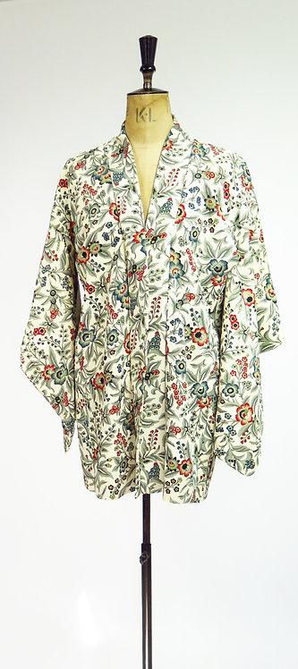 Vintage Silk Haori Kimono Jacket