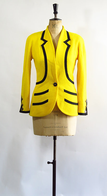"Vintage 1993 Chanel Blazer ""Cruise Collection"""