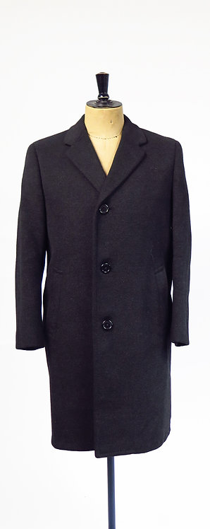 Vintage Daks Simpsons Tailored For Andrews St Albans Wool Overcoat