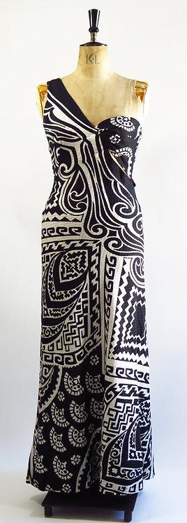 1950s Wriggle Beach Dress