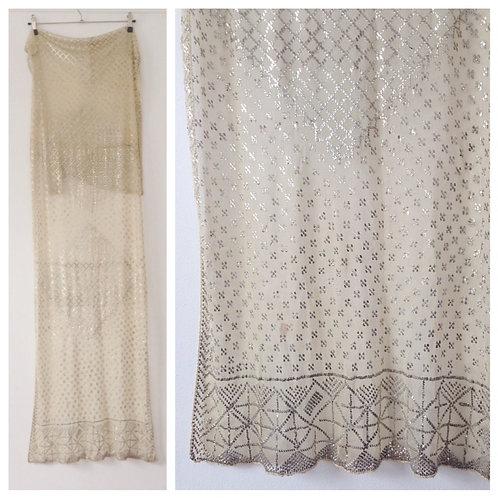 Art Deco 1920s Assuit Net Scarf