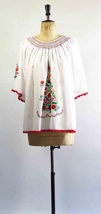 Embroidered Boho Tunic