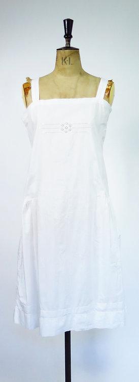 1920s Drop Waist Day Dress / Slip