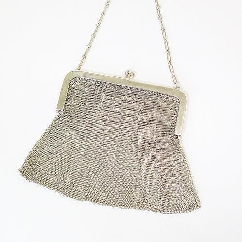 Art D'Eco Silver Evening Bag