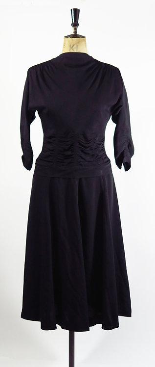 Original Vintage 1940s Dress