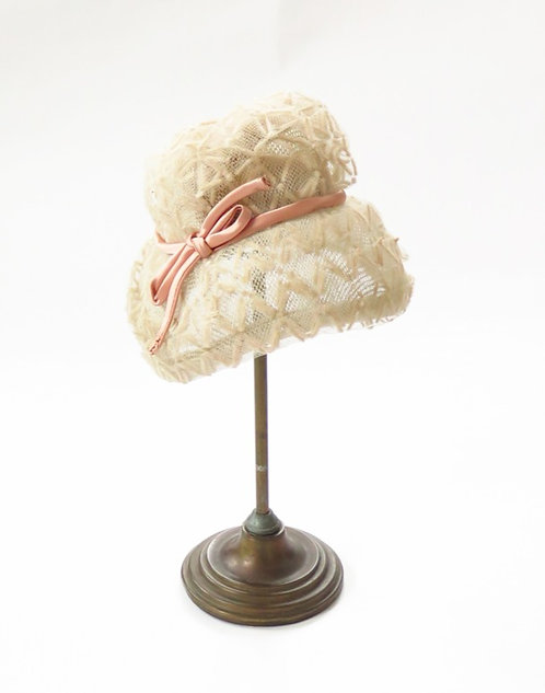 1960s Does 1920s Cloche Style Hat