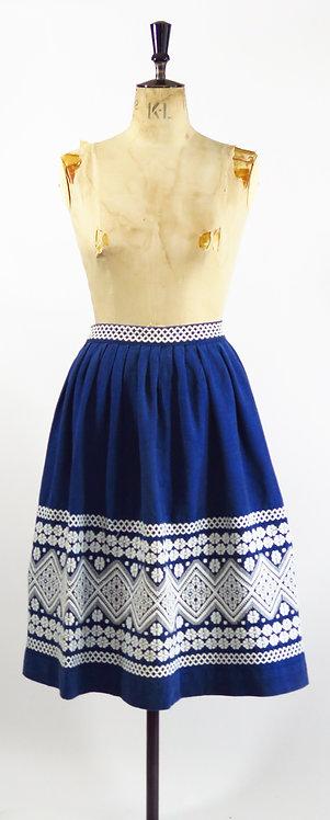1950s Peasant Skirt