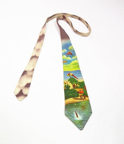 1950s Photie Prints Tie