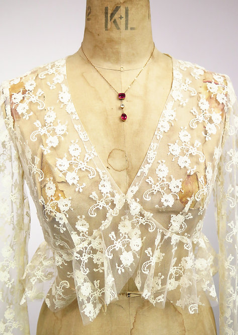 1920s Deco 9ct Gold Necklace