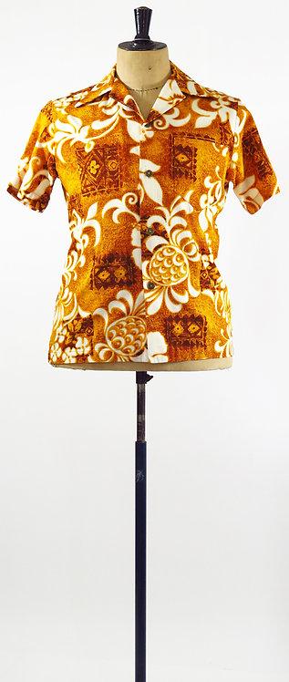 1970's Hawaiian Shirt S-M