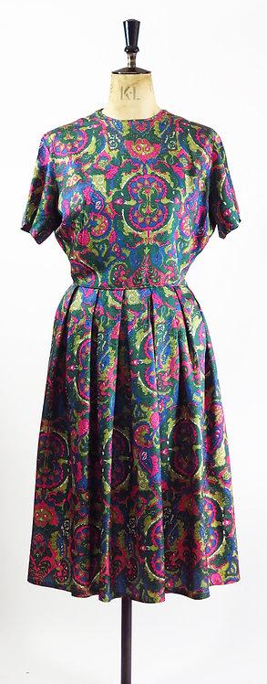 1950s Patterned Dress