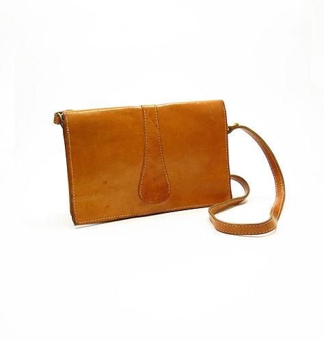 1970s Leather Shoulder Bag