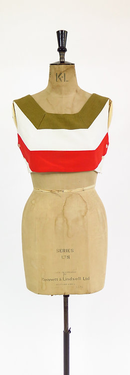 1960s Does The 1930s Cropped Top