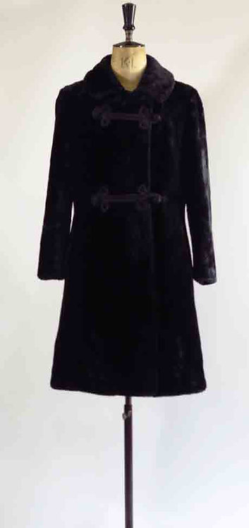 1970's Faux Fur Coat