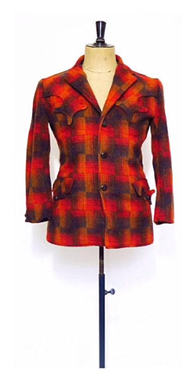 Classic Vintage 1940s Ranch Wear Chore Jacket