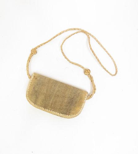 Vintage Reptile Skin Purse / Shoulder Bag