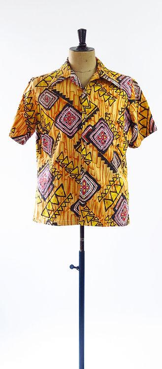 Vintage 1970s Hawaiian Shirt