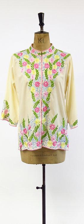 Vintage 1970s Embroidered Boho Jacket