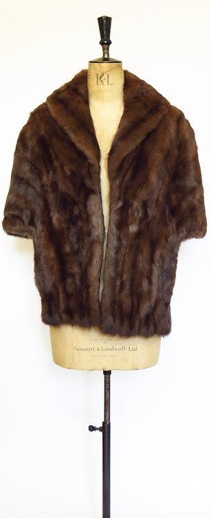 1950s Mink Fur Stole