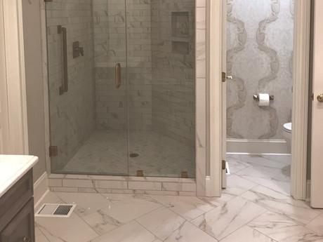 A classic master bathroom uplift