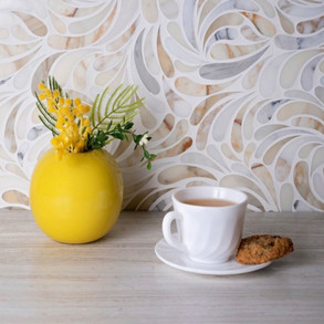Always in style: Organic & effortlessly chic marble mosaics